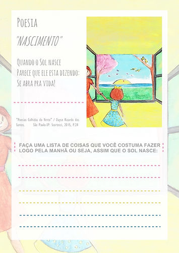 Atividade infantil - Escritora Dayse Ricardo - Brincando com Linguagens - Atividades para Imprimir