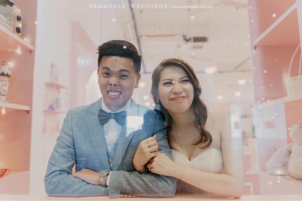 Creative Pre-Wedding Photoshoot in KL