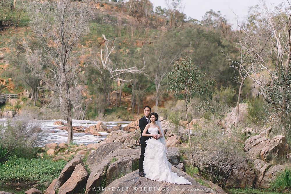 perth australia prewedding