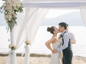 Beach Wedding in Westin Langkawi Resort and Spa | Celebrating Cheryl & Michael