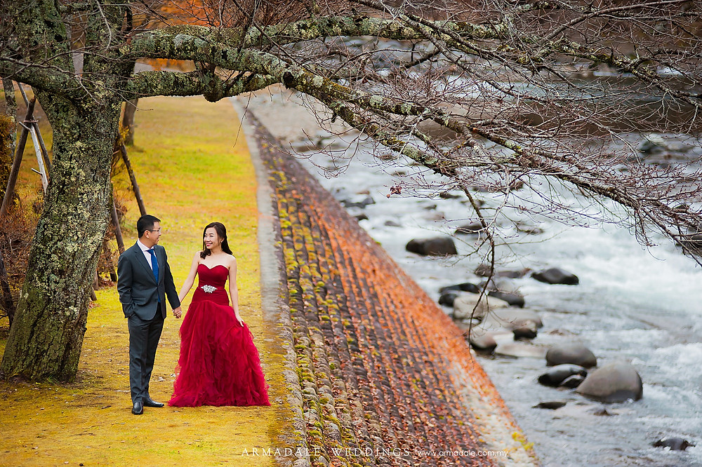 autumn prewedding