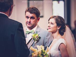 Church Wedding in St Andrew | Celebrating Willi & Regina
