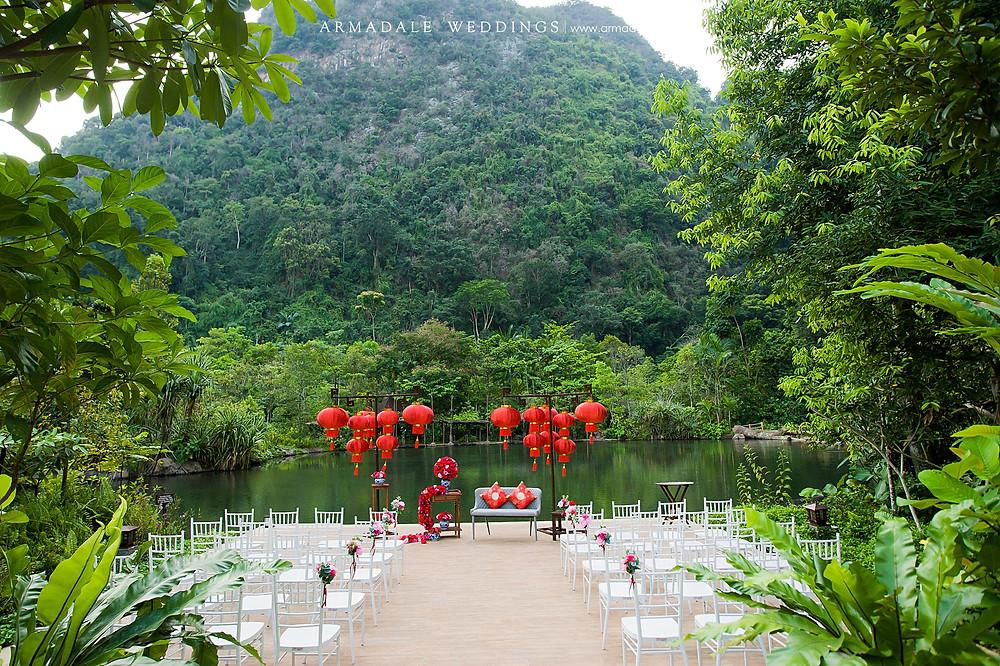 Banjaran hot spring Wedding