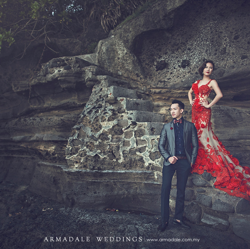 prewedding gown rental