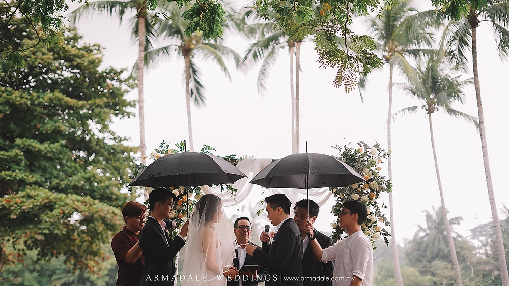 garden wedding in kl