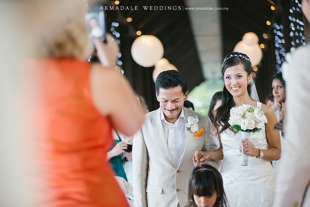 beach wedding pangkor laut resort