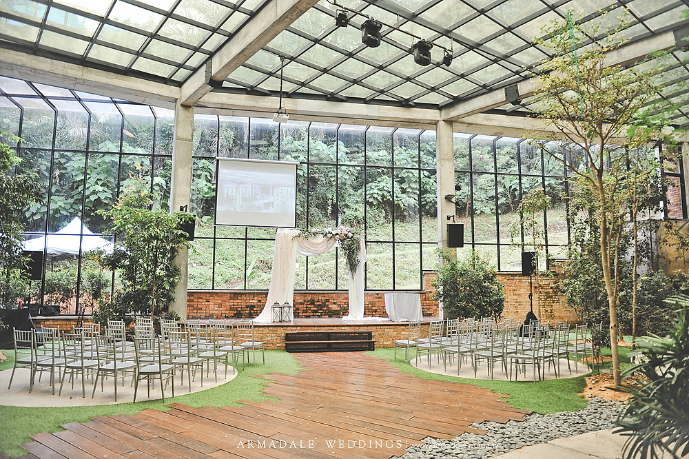 Wedding in glasshouse seputeh