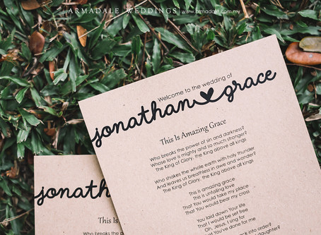 Garden Wedding in Saujana Resort | Celebrating Grace & Jonathan