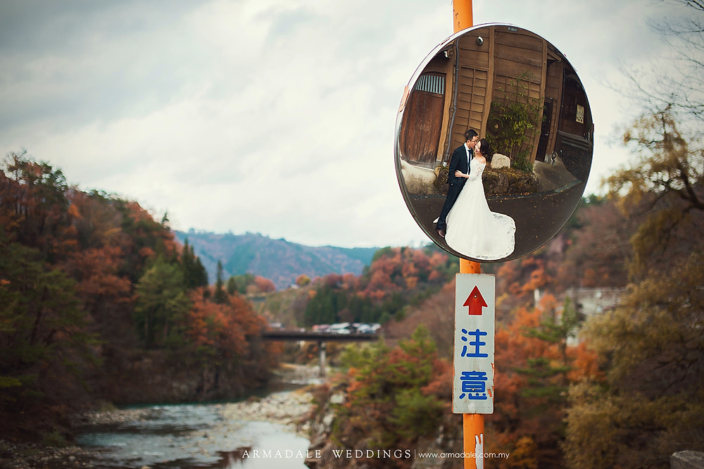 shirakawago prewedding Japan