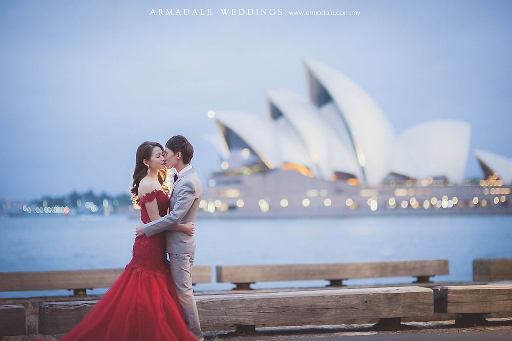 Sydney prewedding location