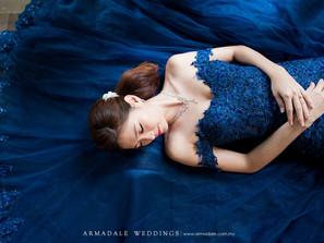 Blue Evening Gowns