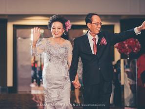 60th Diamond Wedding Anniversary of Mr Lim Seng Qwee & Madam Ng Yoke Foong in Majestic Hotel