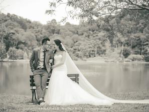 Pre-Wedding in FRIM   Sandra & Freddie