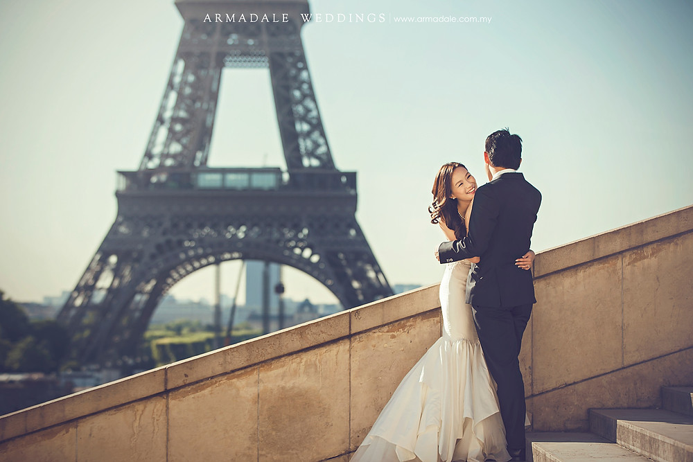 paris prewedding