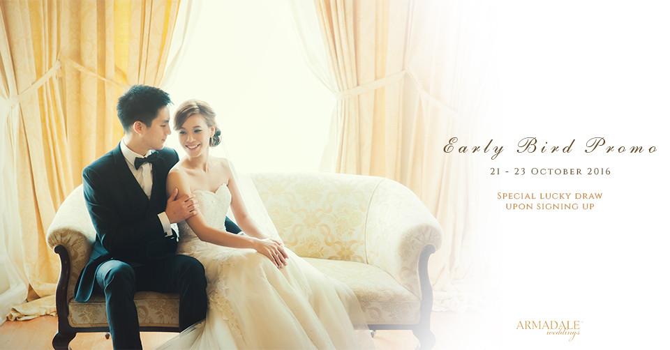 Early bird promo - Armadale Weddings