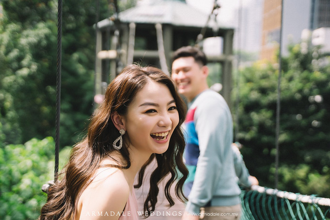 KL Pre-Wedding | Celebrating Stella & Paul