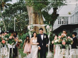 Garden Wedding in Eastern & Oriental Hotel, Penang | Celebrating Lynn & Zhen