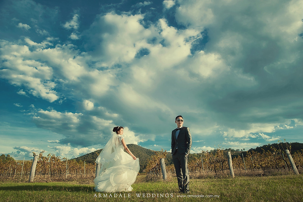 vineyard prewedding australia