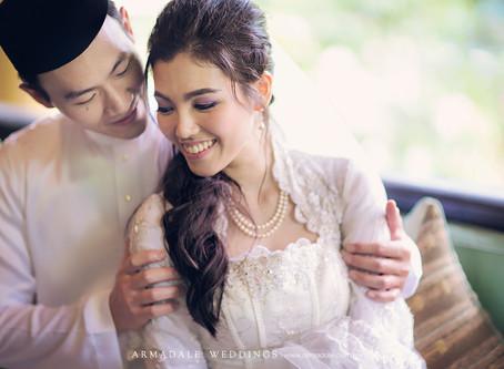 Akad Nikah in Gita Bayu - Kim & Roshida