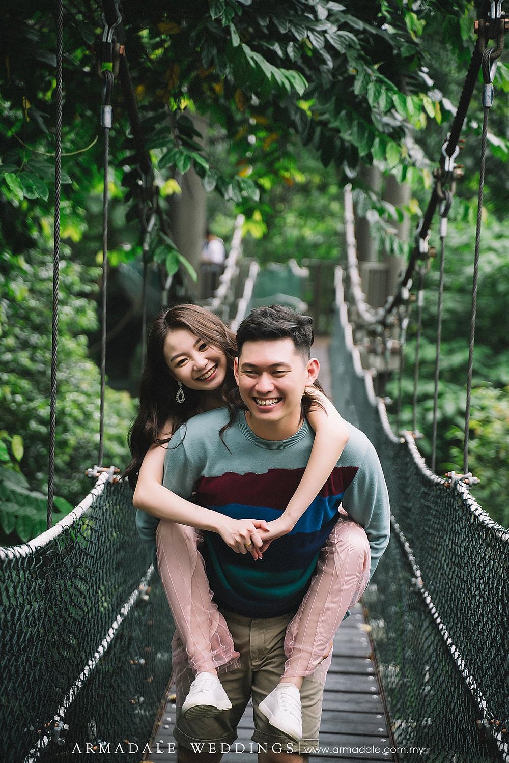 KL Forest Eco Park, Malaysia Pre-Wedding