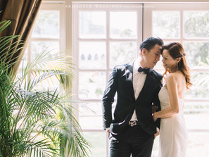 Intimate wedding in Majestic hotel | Suet Funn & Raymond