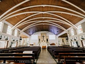 Church Wedding | Celebrating Mabel & John