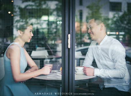 Pre-Wedding in KL | Celebrating Lawrence and Annabelle