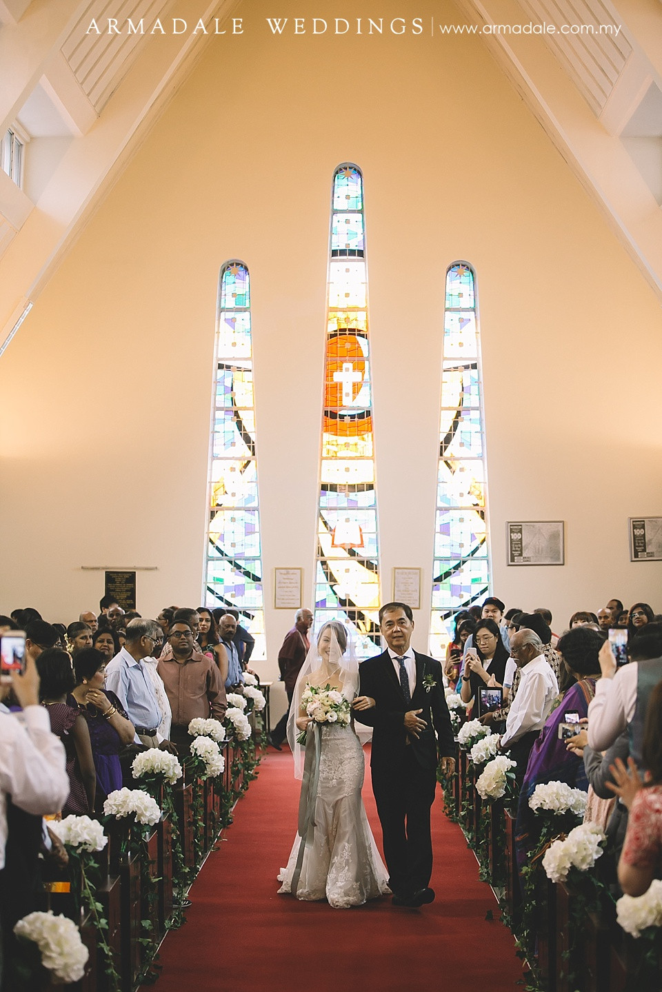 Church wedding in Malaysia