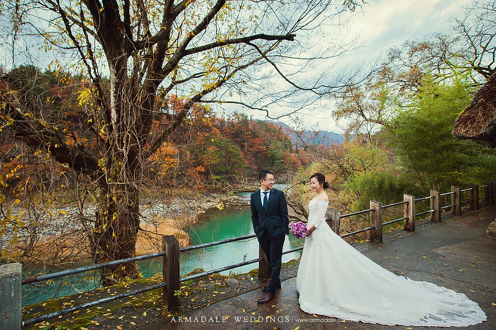 shirakawa-go Japan prewedding