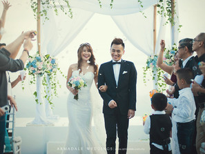 A cliff top dream wedding, Bali | Way Kiat & Elly