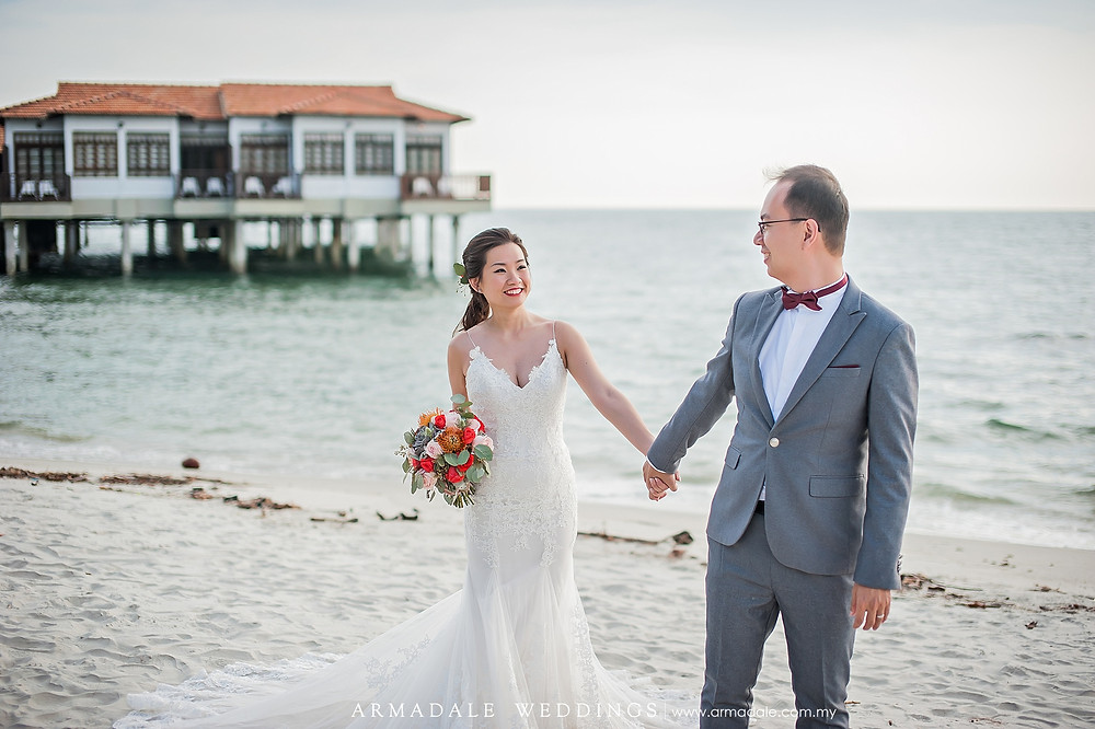 mermaid lace wedding gown malaysia