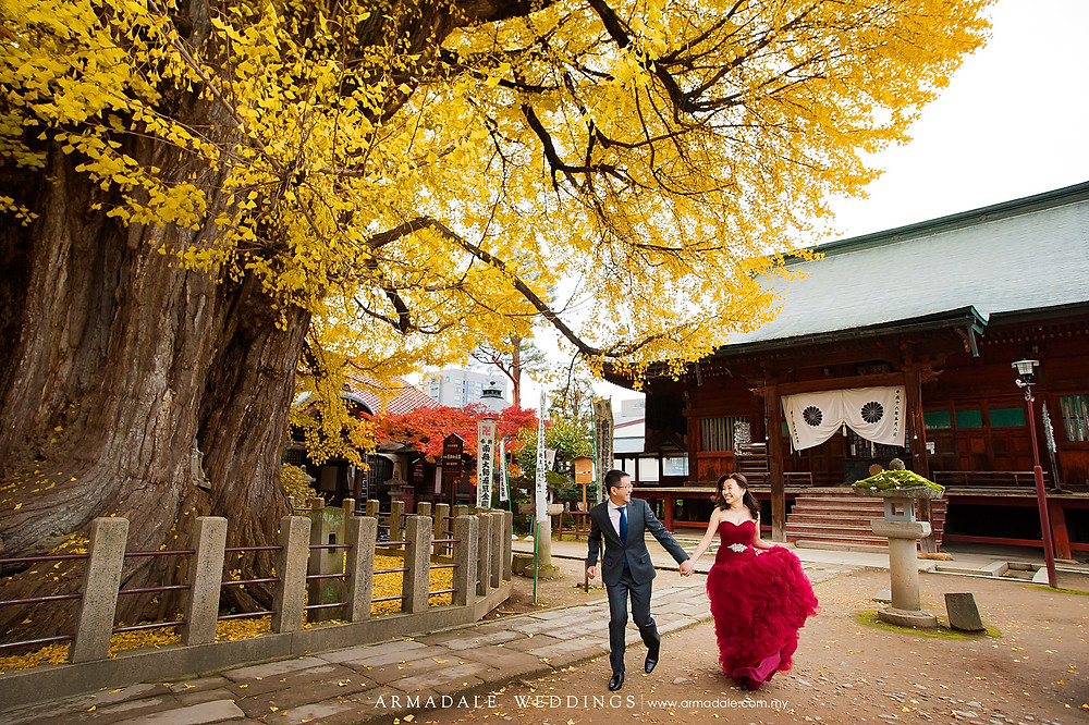 Japan shirakawago prewedding