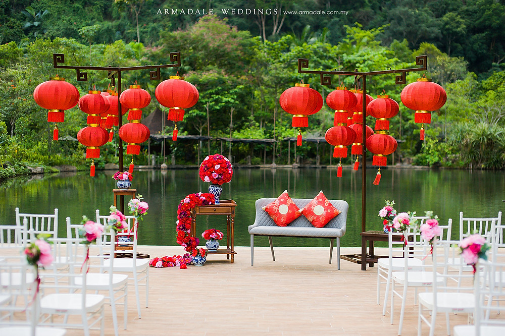 Wedding in Banjaran Hotspring