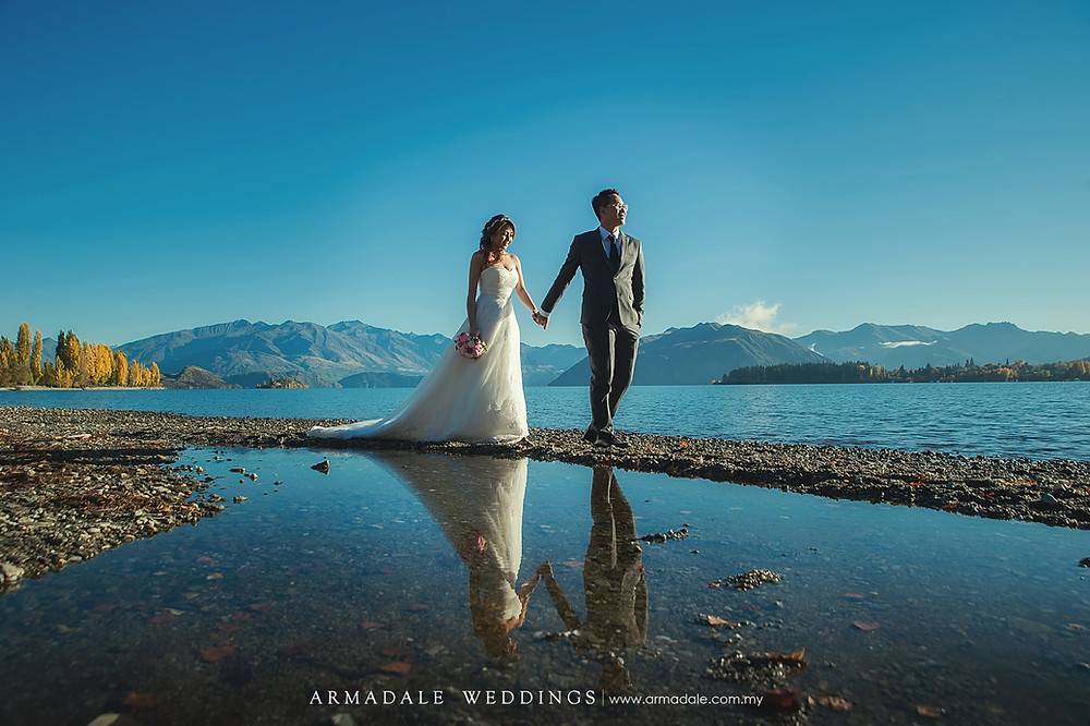 New Zealand prewedding, Armadale Weddings