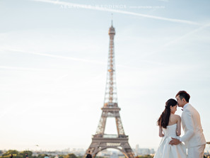 Paris, Europe Pre-Wedding | Celebrating Kris & Vince