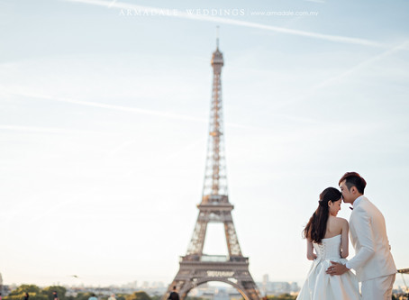 Paris, Europe Pre-Wedding | Celebrating Kris & Vince