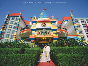 Legoland Pre-Wedding | Celebrating Jimmy & Wai Fang