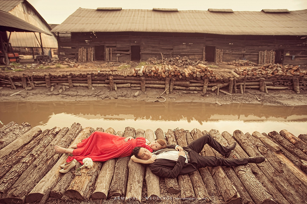 charcoal factory prewedding