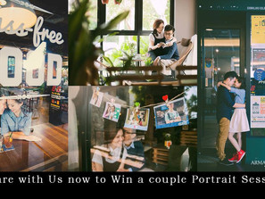 Win a couple portrait session