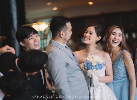 Church Wedding | Celebrating Gary & Angeline