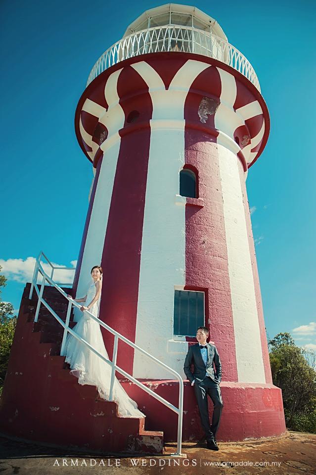 hornby lighthouse prewedding sydney