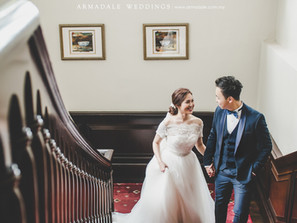 Pre-Wedding in Eastern & Oriental Hotel, Penang | Celebrating Andrea & Han
