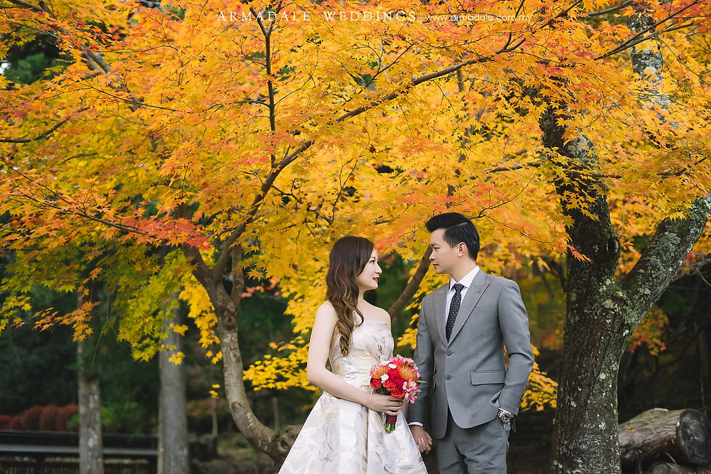 autumn-prewedding-in-japan