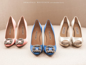Our favourite wedding shoes worn by Armadale brides