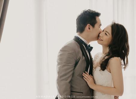 Wedding in Marriott Putrajaya | Celebrating Valerie & Eugene