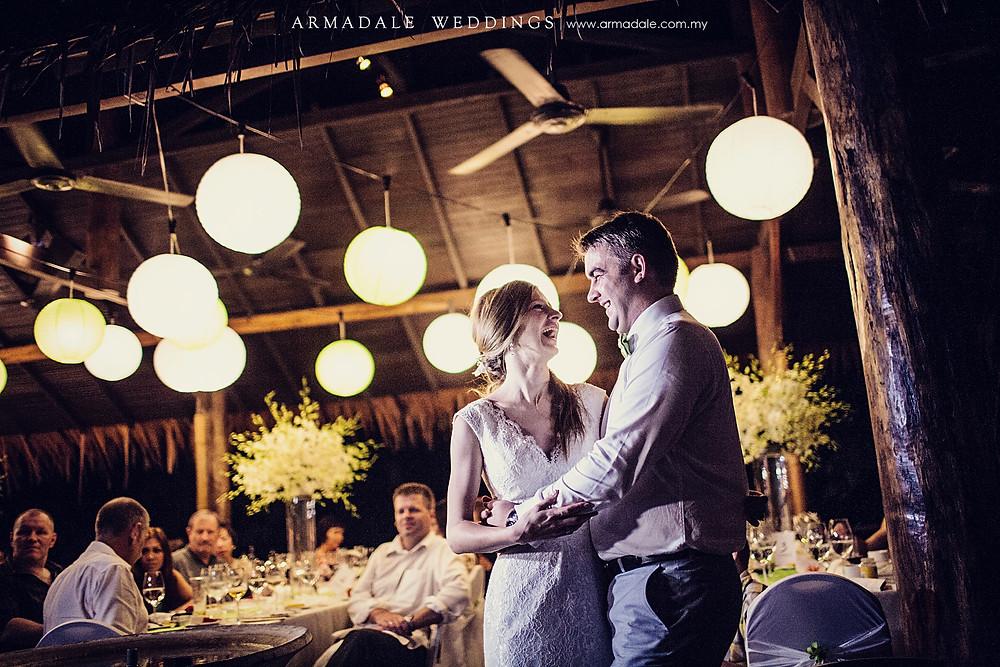 wedding dinner in tamarind spring