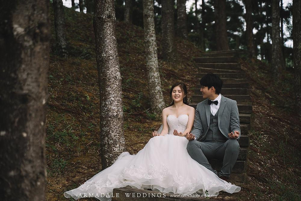 Taman Saujana Hijau Pre-Wedding, Malaysia