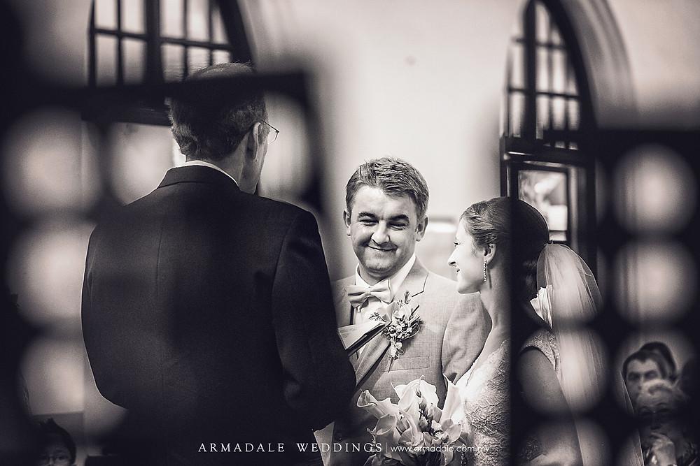 church wedding in St. Andrew