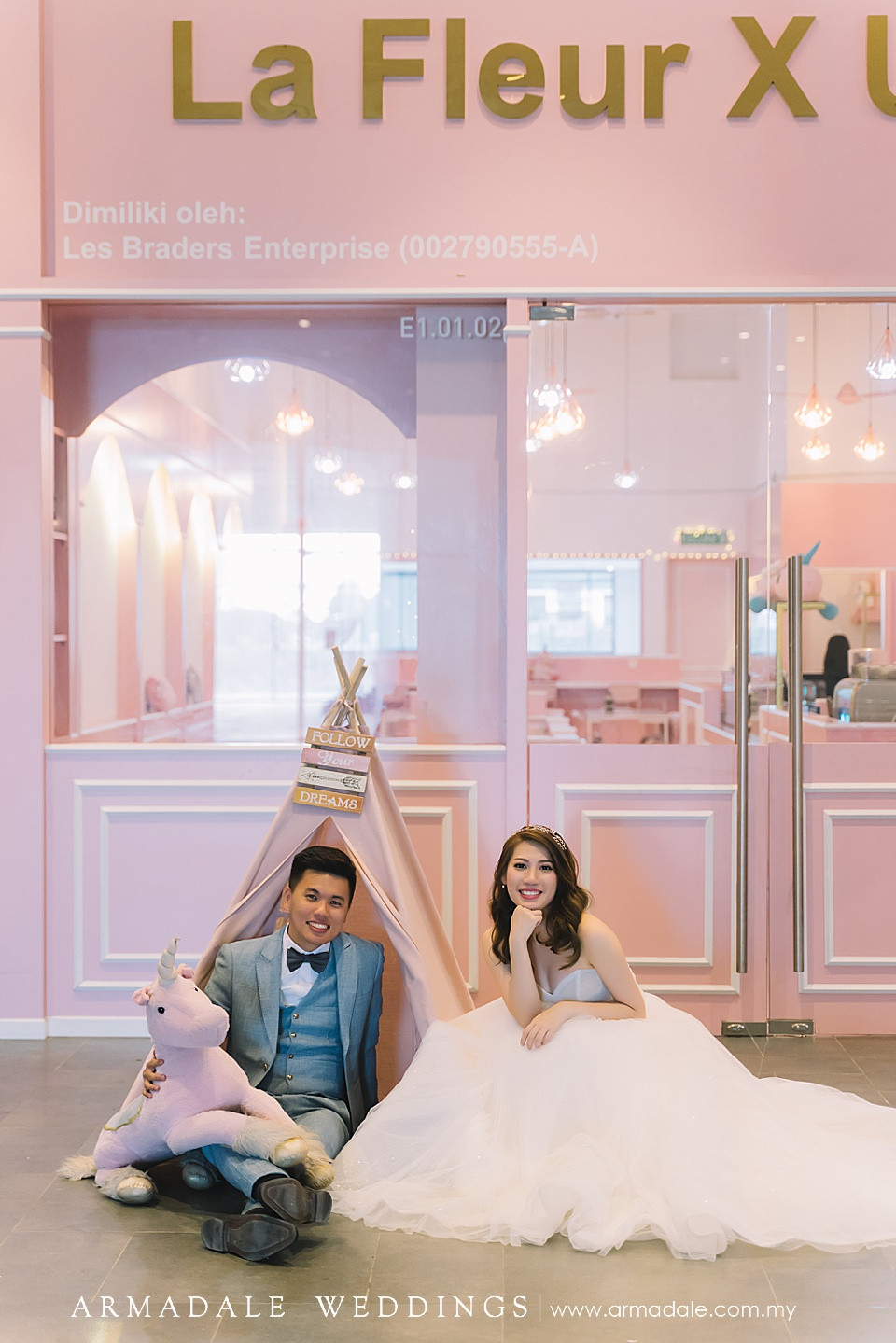 Pink Theme Pre-Wedding Photoshoot Ideas in KL