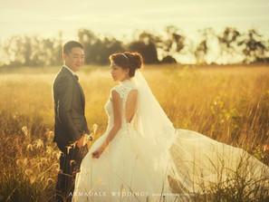 Vineyard pre-wedding in Sydney, Australia | Rachel & Michael